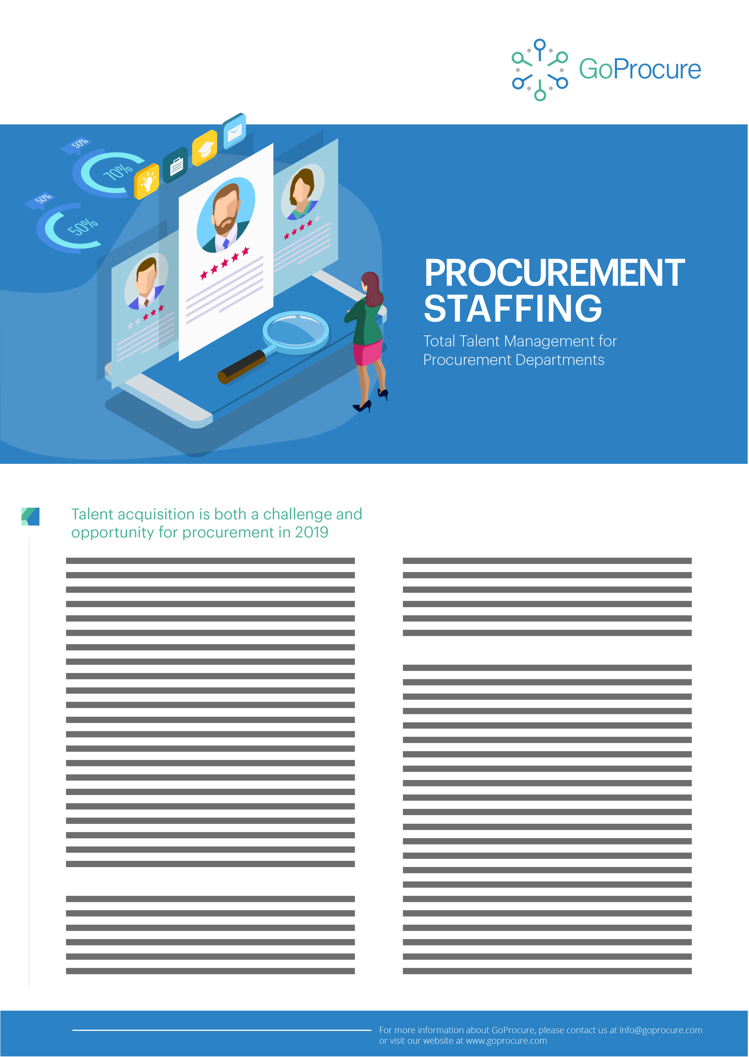 Procurement Staffing Service Sheet