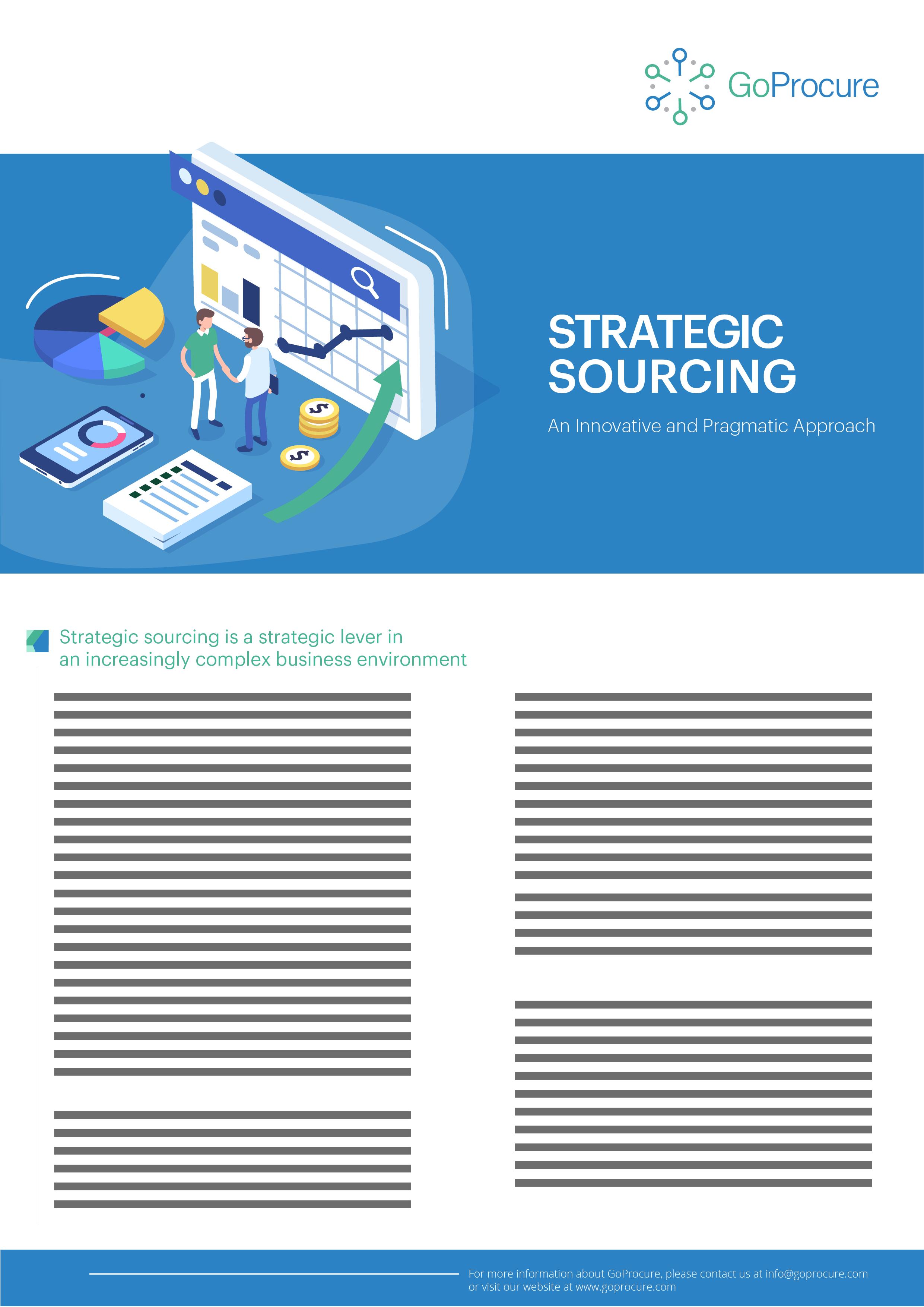 Strategic Sourcing Service Sheet